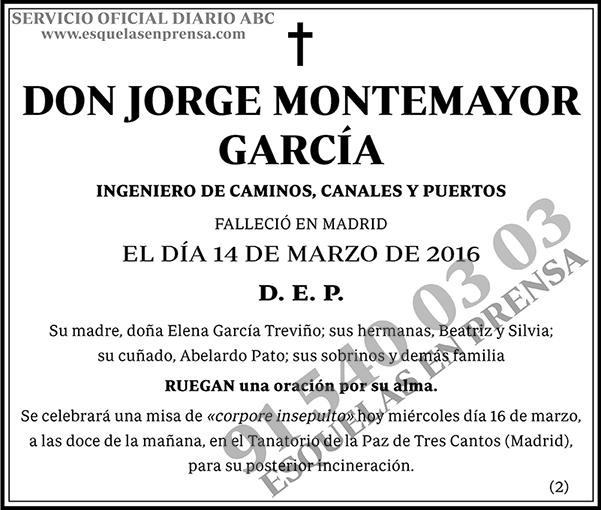 Jorge Montemayor García